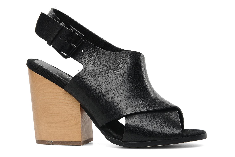 CARRIERI Black leather