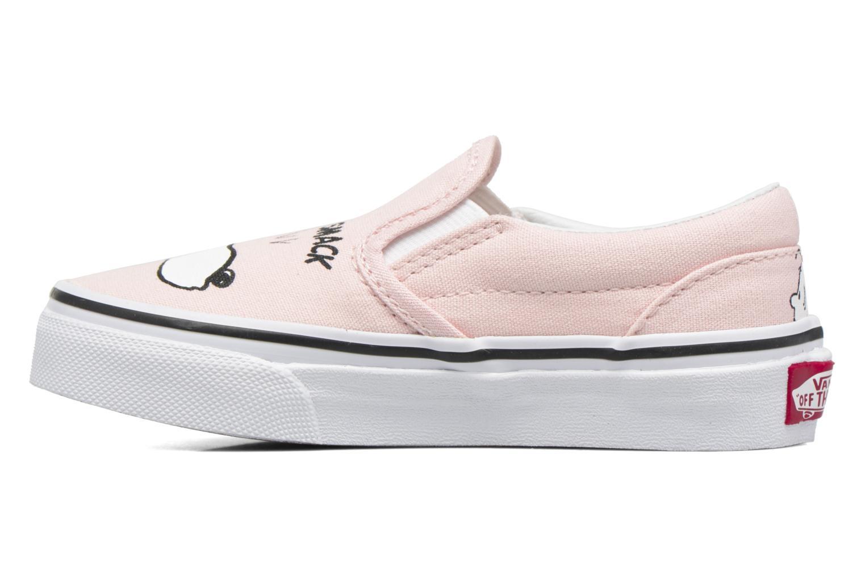 Sneaker Vans Classic Slip-On E rosa ansicht von vorne