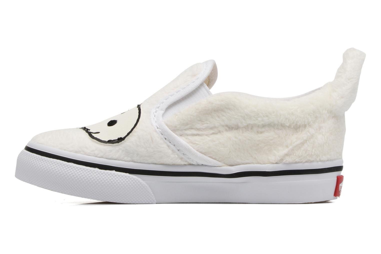 Baskets Vans Classic Slip-On E Blanc vue face