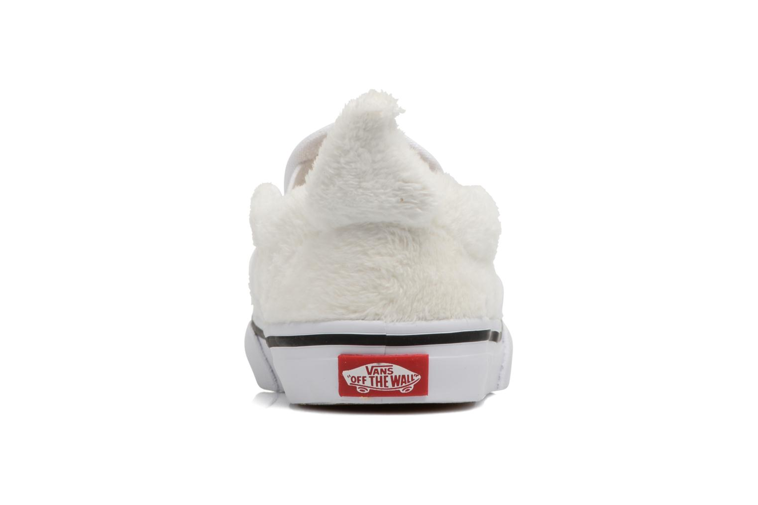 Trainers Vans Classic Slip-On E White view from the right