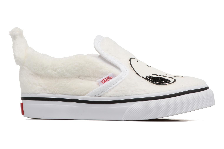 Baskets Vans Classic Slip-On E Blanc vue derrière