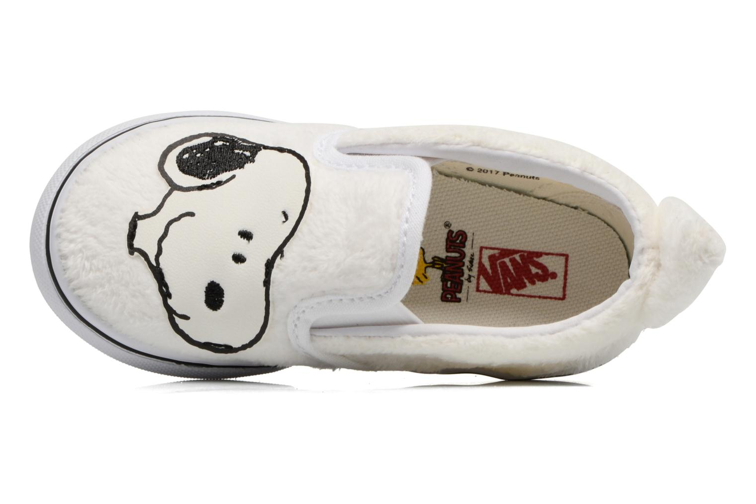 Trainers Vans Classic Slip-On E White view from the left