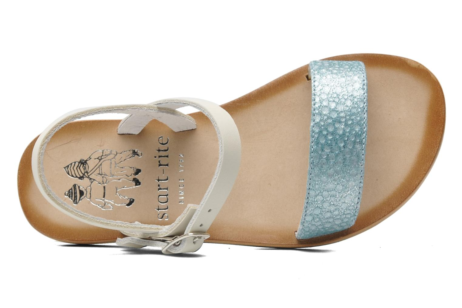 Sandals start rite classics Flora Blue view from the left