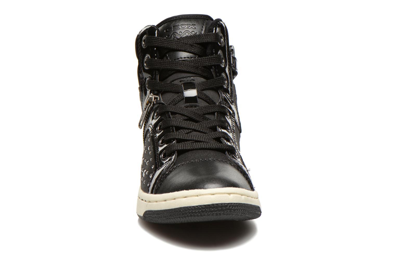 Sneaker Geox J CREAMY C schwarz schuhe getragen