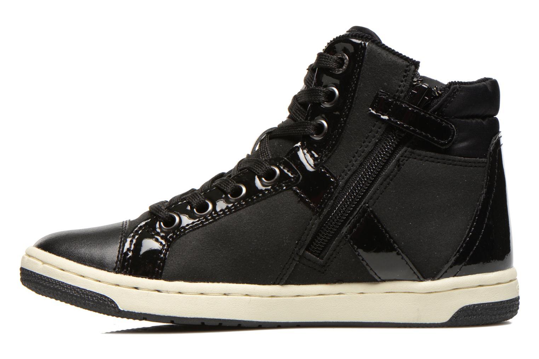 Sneaker Geox J CREAMY C schwarz ansicht von vorne