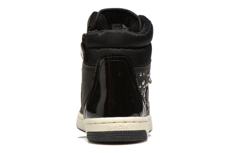 Sneaker Geox J CREAMY C schwarz ansicht von rechts