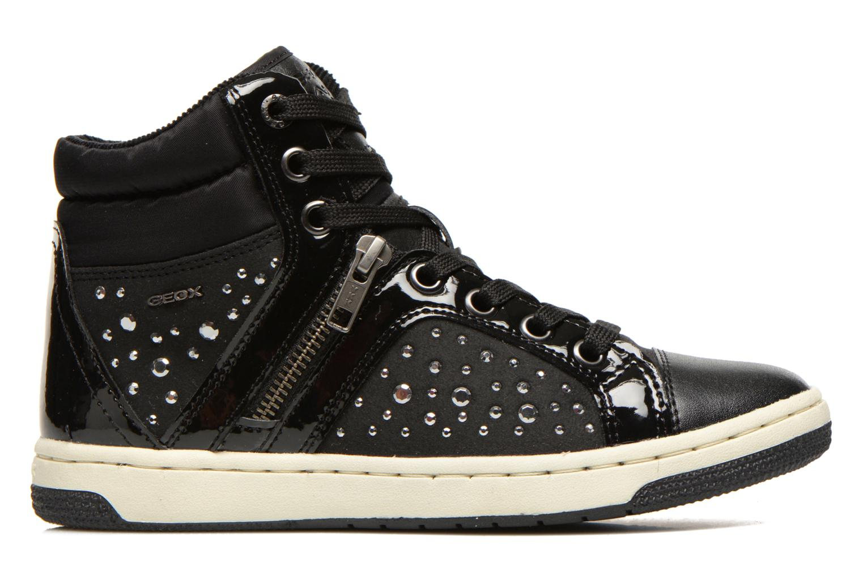 Sneaker Geox J CREAMY C schwarz ansicht von hinten
