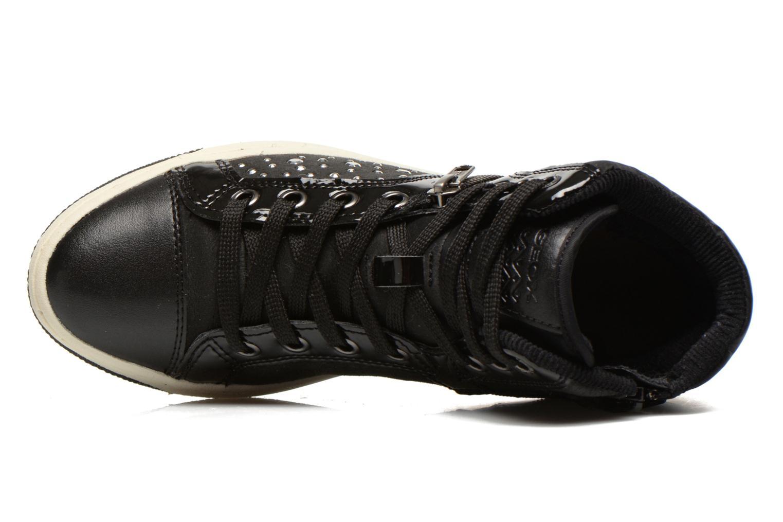 Sneaker Geox J CREAMY C schwarz ansicht von links