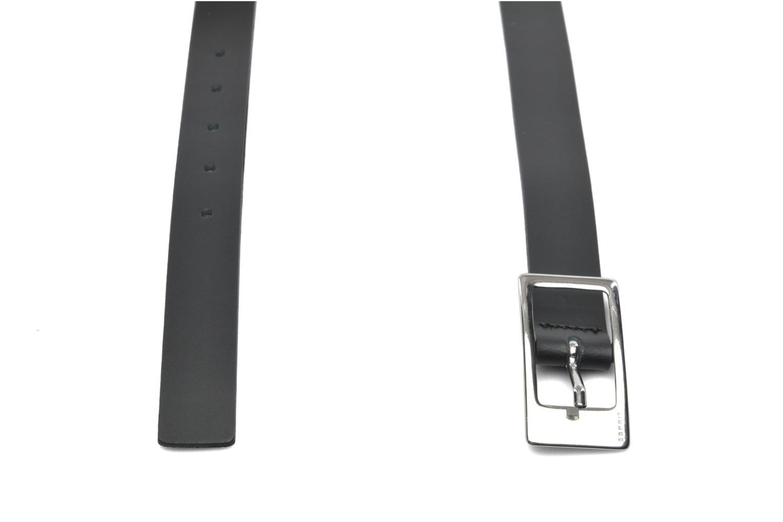 Ceintures Esprit Gamila Leather Belt 20mm Noir vue gauche
