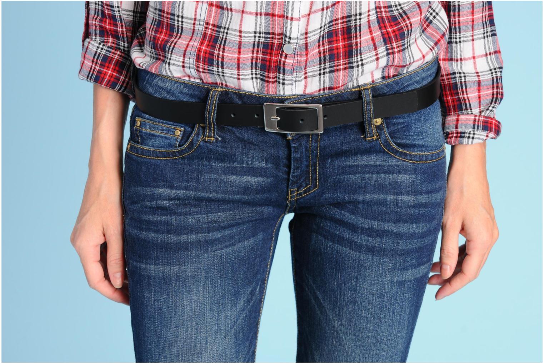 Gürtel Esprit Gamila Leather Belt 20mm schwarz ansicht von oben