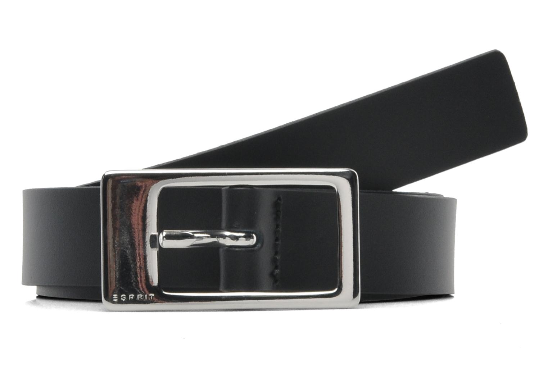Belts Esprit Gamila Leather Belt 20mm Black detailed view/ Pair view