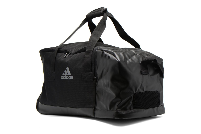 Sporttaschen Adidas Performance 3S Per TB M schwarz schuhe getragen