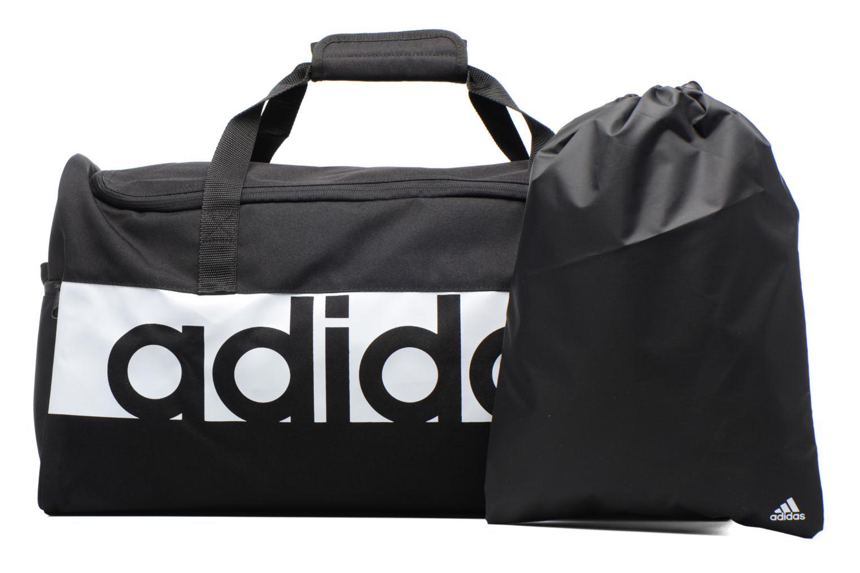 Sporttaschen Adidas Performance Lin Per TB M schwarz ansicht von links