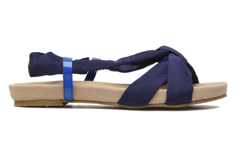 Sandalen Ruby Brown Rachel blau ansicht von hinten