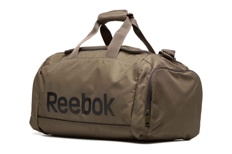 Sporttaschen Reebok Spor Roy S Grip grün schuhe getragen
