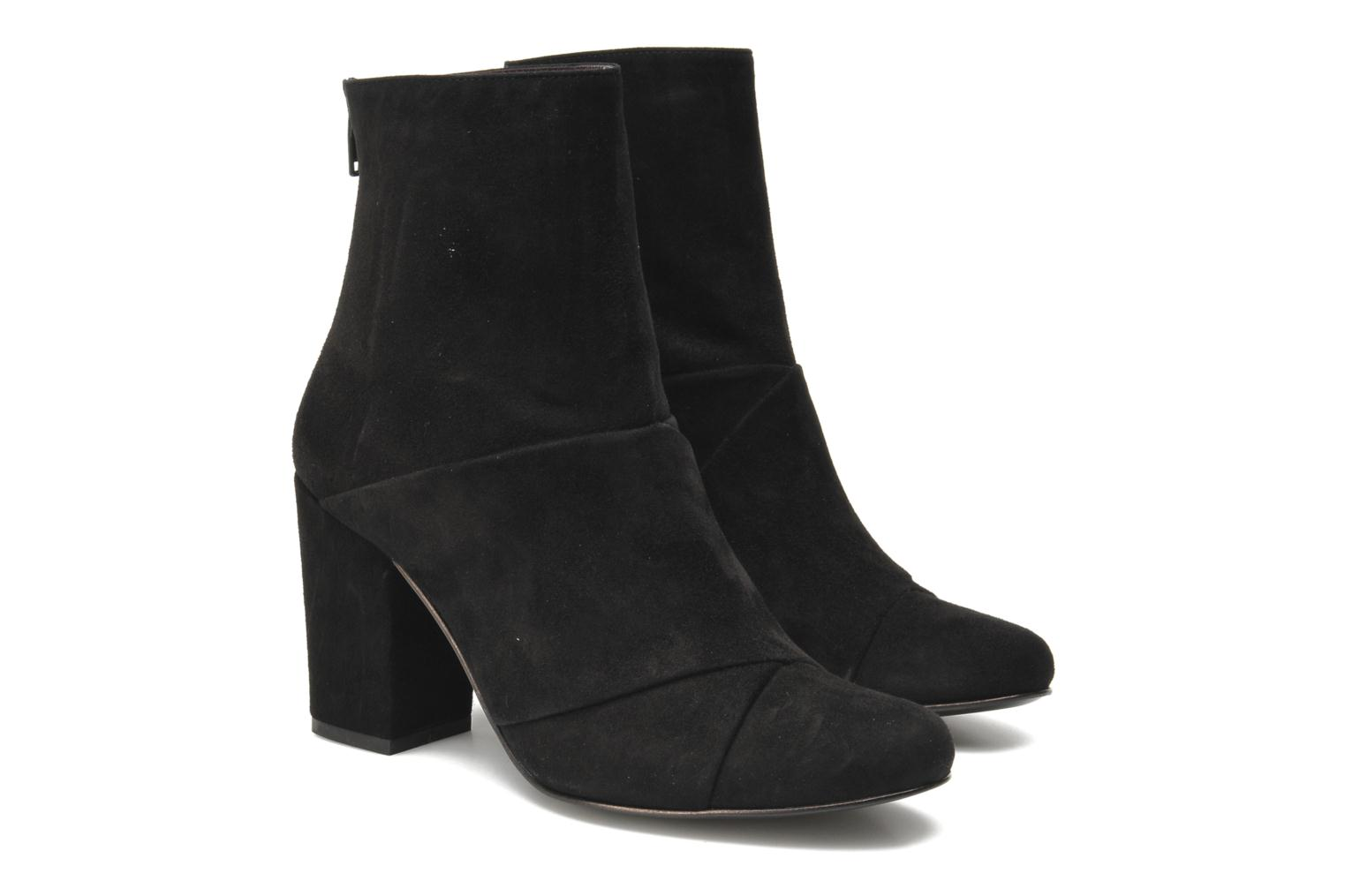 Bottines et boots Opening Ceremony Curtain Boot Noir vue 3/4