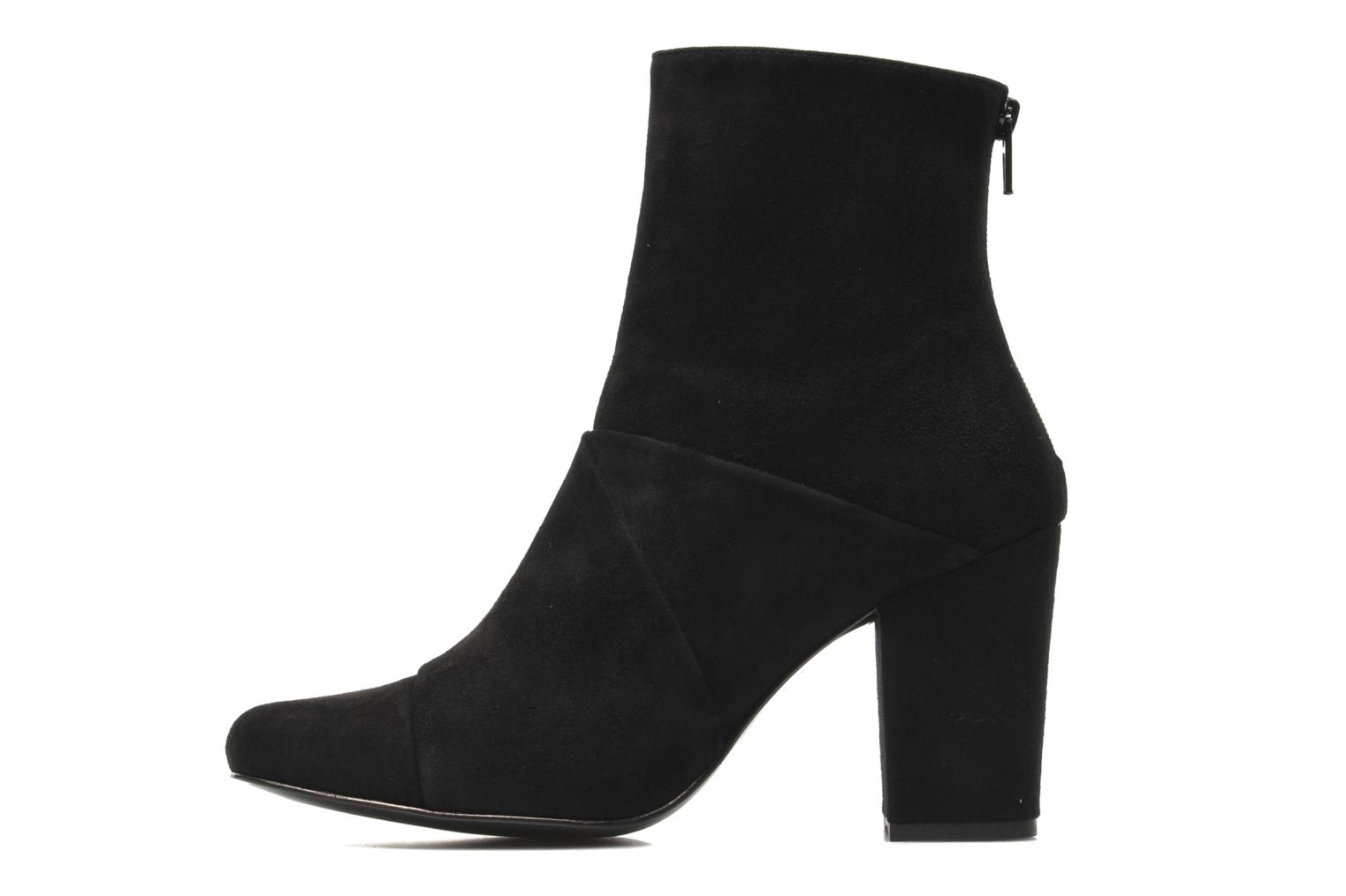Bottines et boots Opening Ceremony Curtain Boot Noir vue face