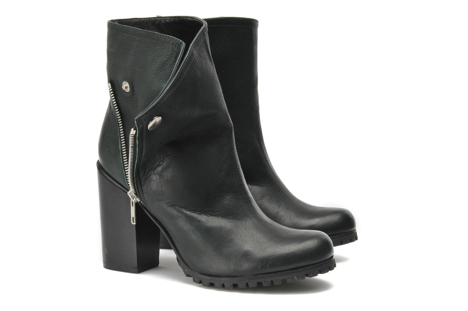 Bottines et boots Opening Ceremony Margot Pull on Boot Vert vue 3/4