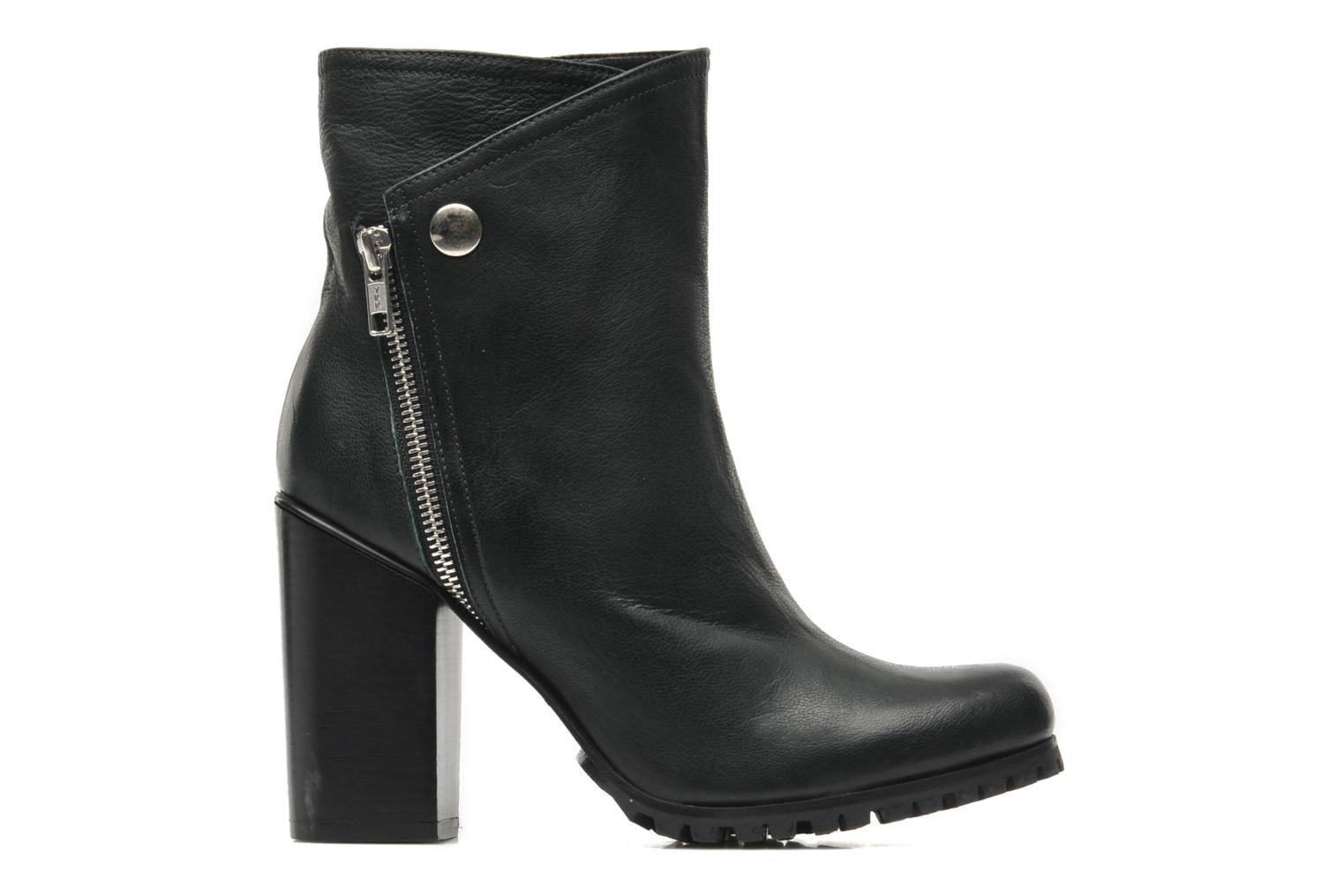 Margot Pull on Boot Green Leather
