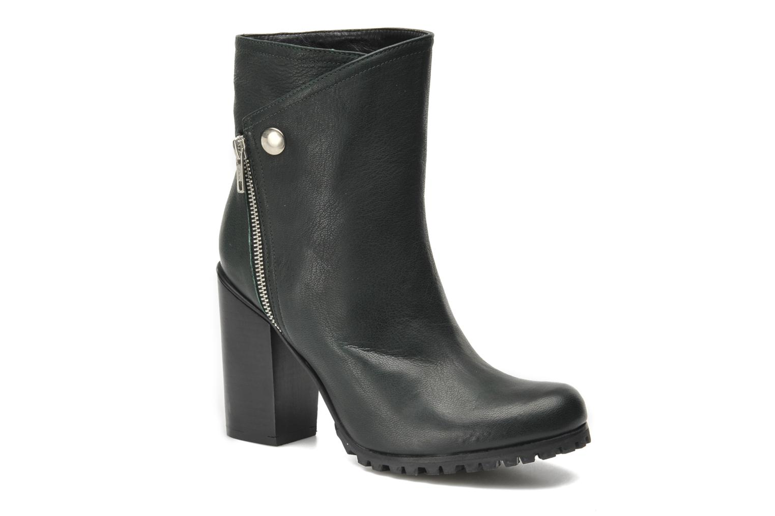 Bottines et boots Opening Ceremony Margot Pull on Boot Vert vue détail/paire
