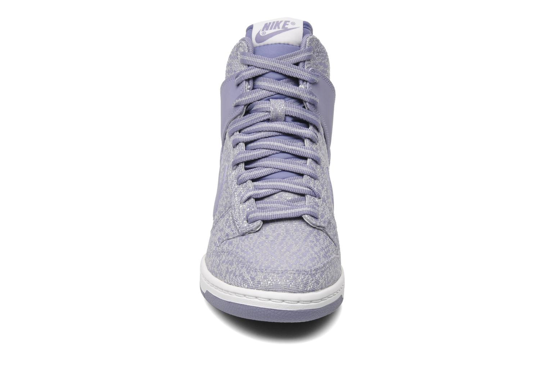 Sneakers Nike Wmns Dunk Sky Hi Txt Paars model