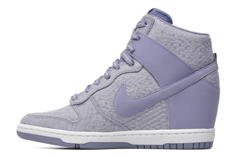 Sneakers Nike Wmns Dunk Sky Hi Txt Paars voorkant