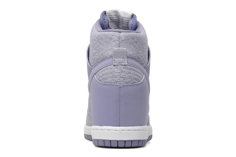 Sneakers Nike Wmns Dunk Sky Hi Txt Paars rechts
