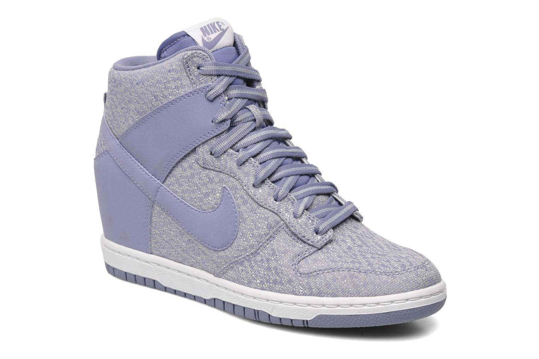 Sneakers Nike Wmns Dunk Sky Hi Txt Paars detail