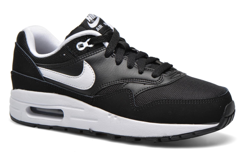 Baskets Nike Nike air max 1 (gs) Noir vue détail/paire
