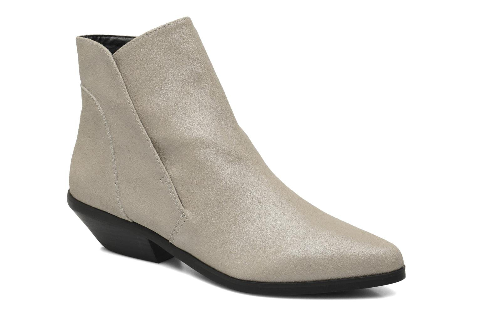 Bottines et boots Shellys London Hingston Gris vue détail/paire