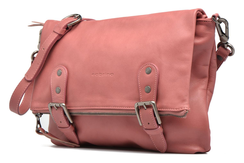 Handtaschen Sabrina Maëlle rosa schuhe getragen