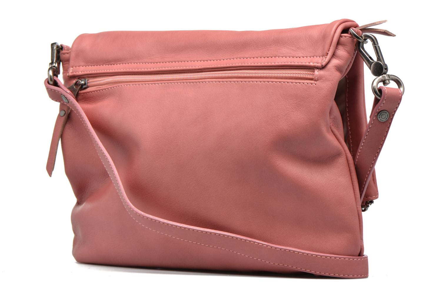 Handbags Sabrina Maëlle Pink view from the right