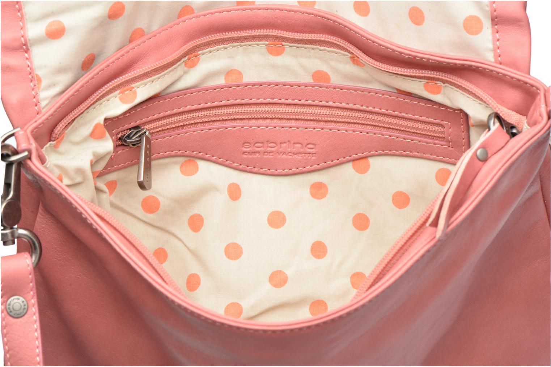 Handtaschen Sabrina Maëlle rosa ansicht von hinten