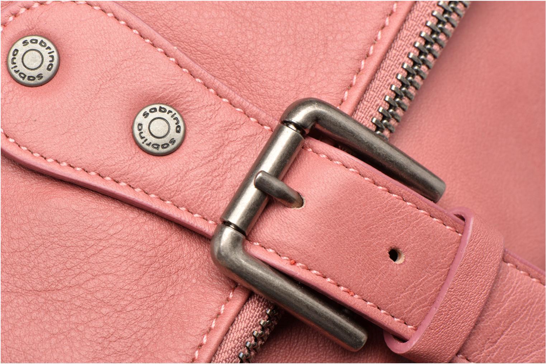 Handtaschen Sabrina Maëlle rosa ansicht von links