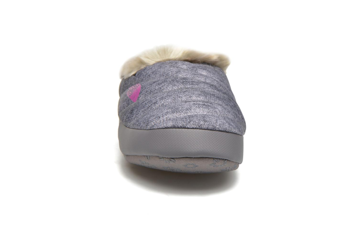 Slippers The North Face W Nse Tent Mule Faux Fur II Grey model view