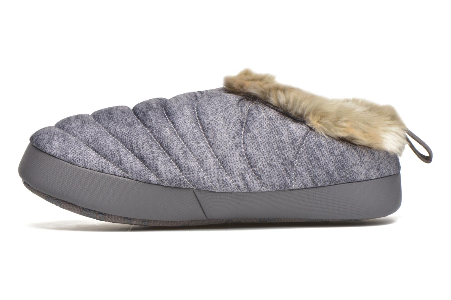 Slippers The North Face W Nse Tent Mule Faux Fur II Grey front view