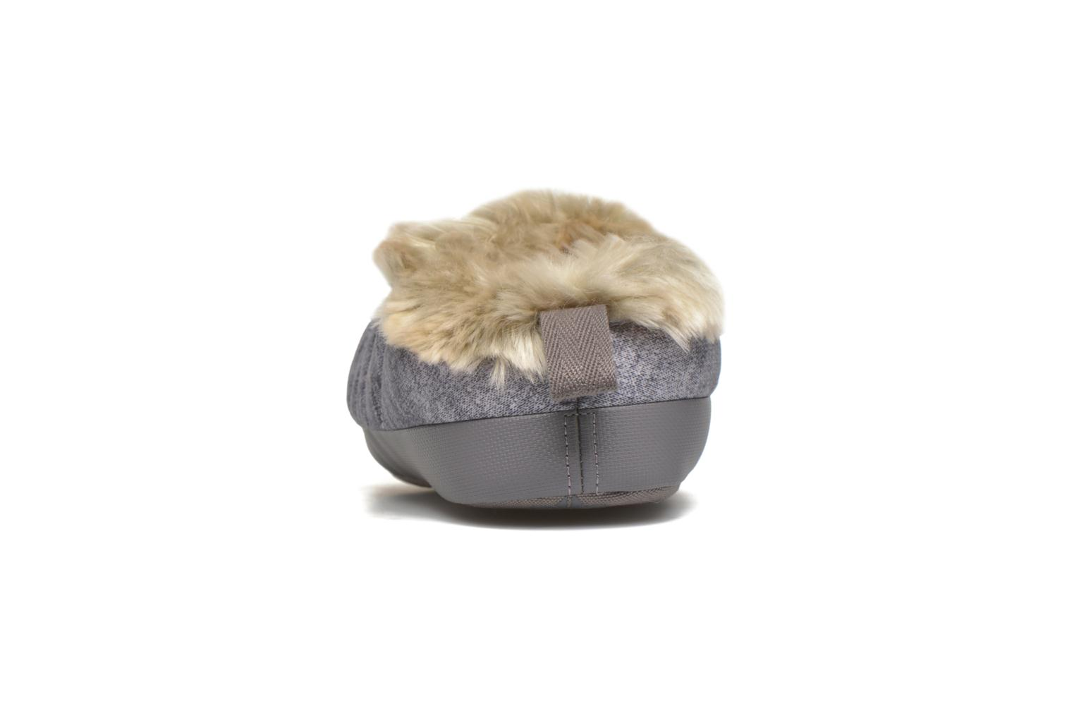 Chaussons The North Face W Nse Tent Mule Faux Fur II Gris vue droite