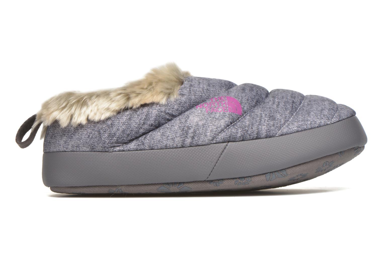 Pantoffels The North Face W Nse Tent Mule Faux Fur II Grijs achterkant