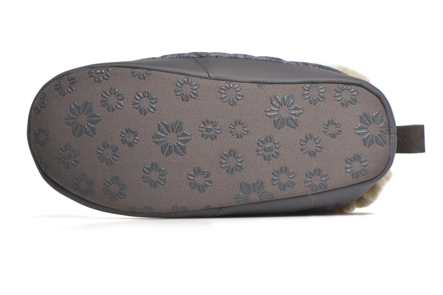 Chaussons The North Face W Nse Tent Mule Faux Fur II Gris vue haut
