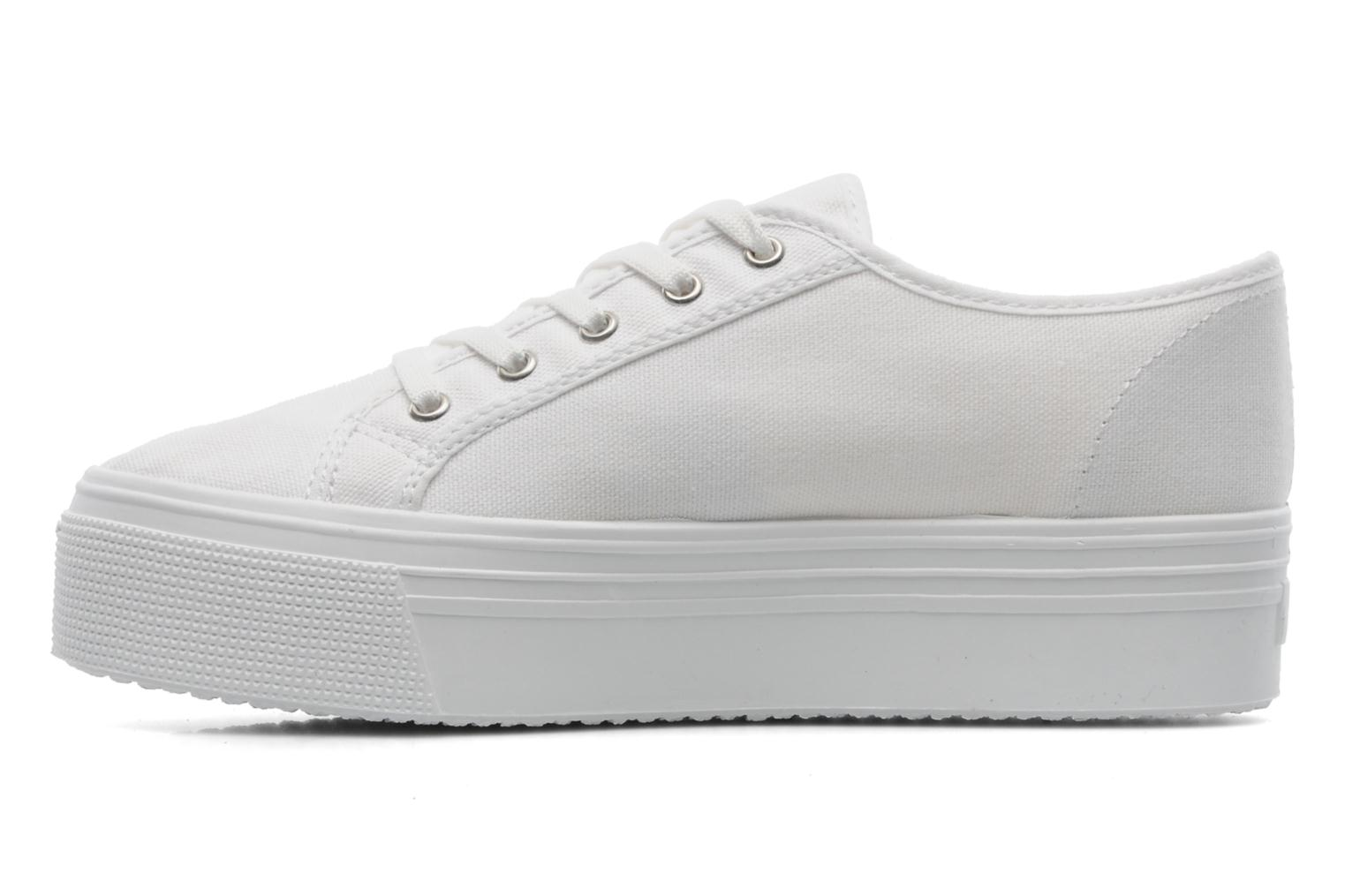 Baskets US Marshall Game Blanc vue face