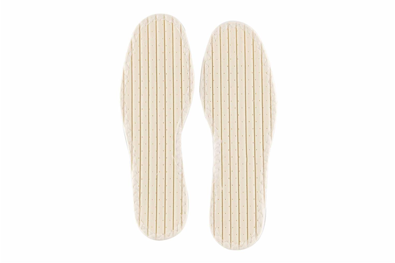 Semelles Famaco Semelle coton Tropicale Femme Blanc vue portées chaussures