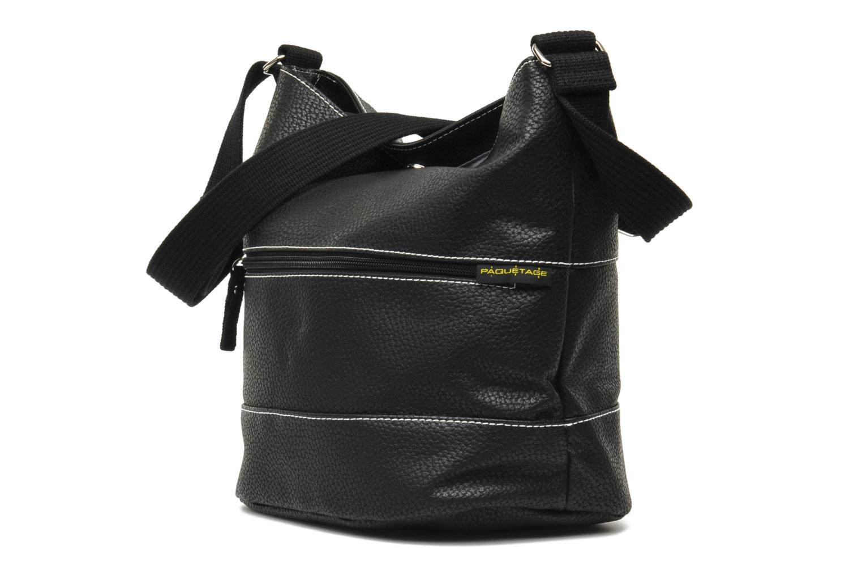 Handtassen Paquetage Seau Grainé Zwart model