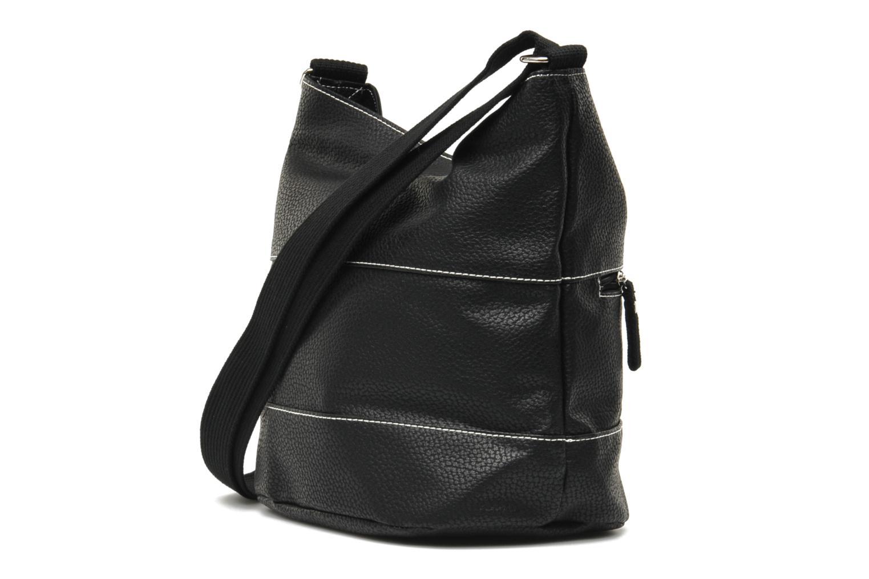 Handtassen Paquetage Seau Grainé Zwart rechts