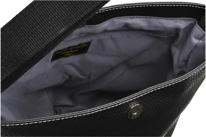 Handtassen Paquetage Seau Grainé Zwart achterkant