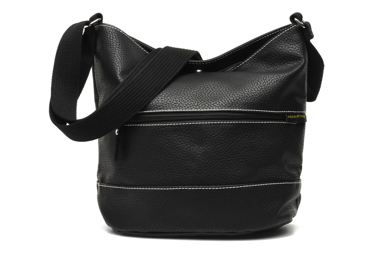 Handtassen Paquetage Seau Grainé Zwart detail