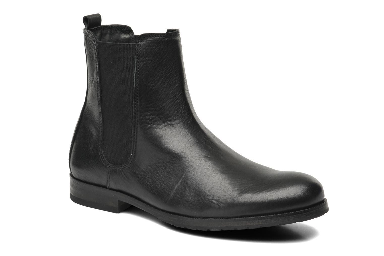 Bottines et boots Royal Republiq Ave Cross Chelsea Boot Tweed Noir vue détail/paire