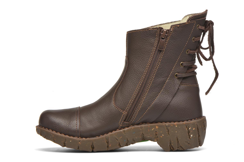 Bottines et boots El Naturalista Yggdrasil N148 Marron vue face