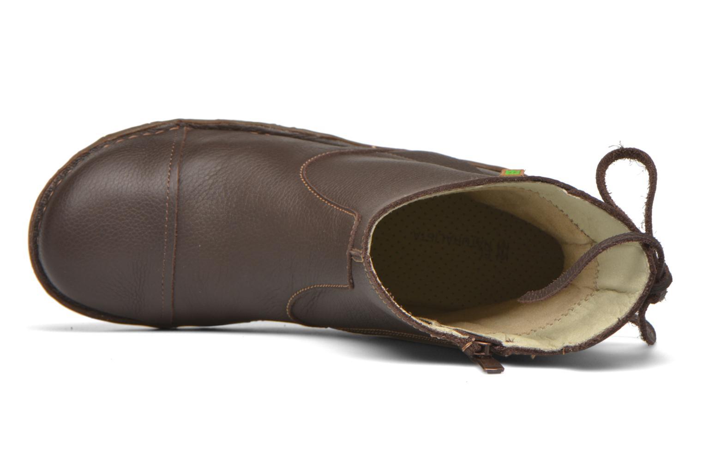 Bottines et boots El Naturalista Yggdrasil N148 Marron vue gauche