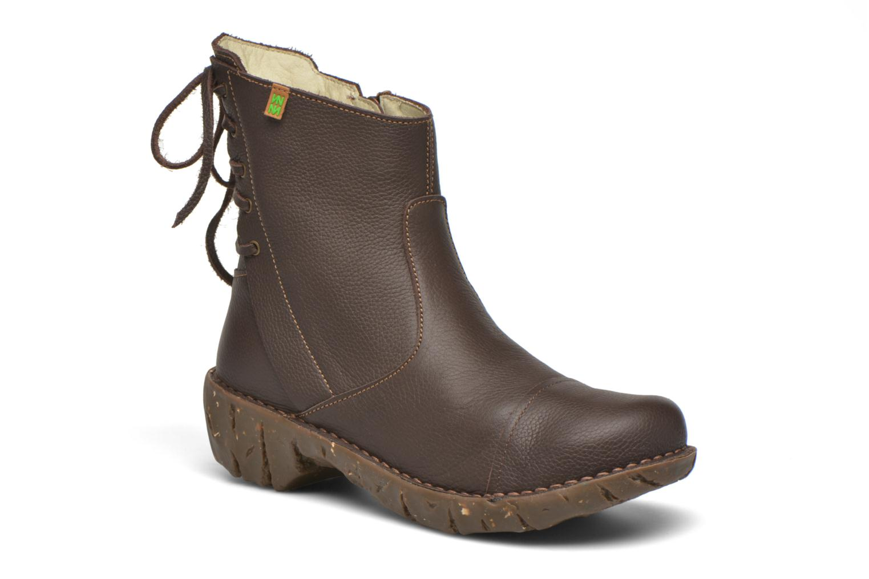 Bottines et boots El Naturalista Yggdrasil N148 Marron vue détail/paire