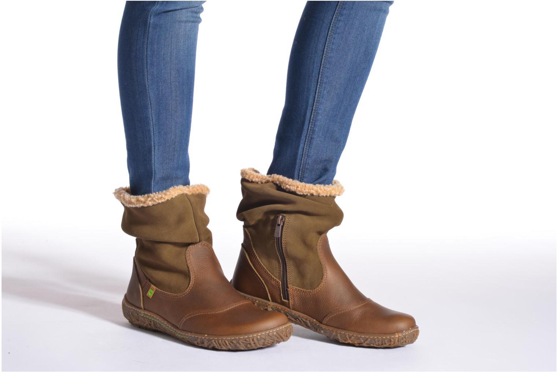 Bottines et boots El Naturalista Nido Ella N758 Marron vue bas / vue portée sac
